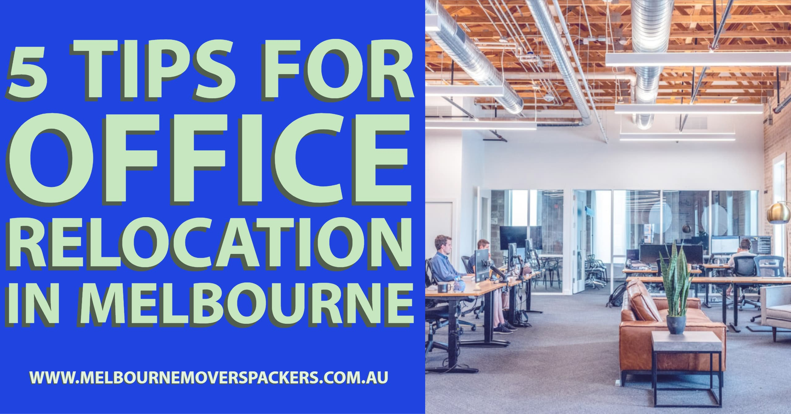 5 Tips for Office Relocation in Melbourne