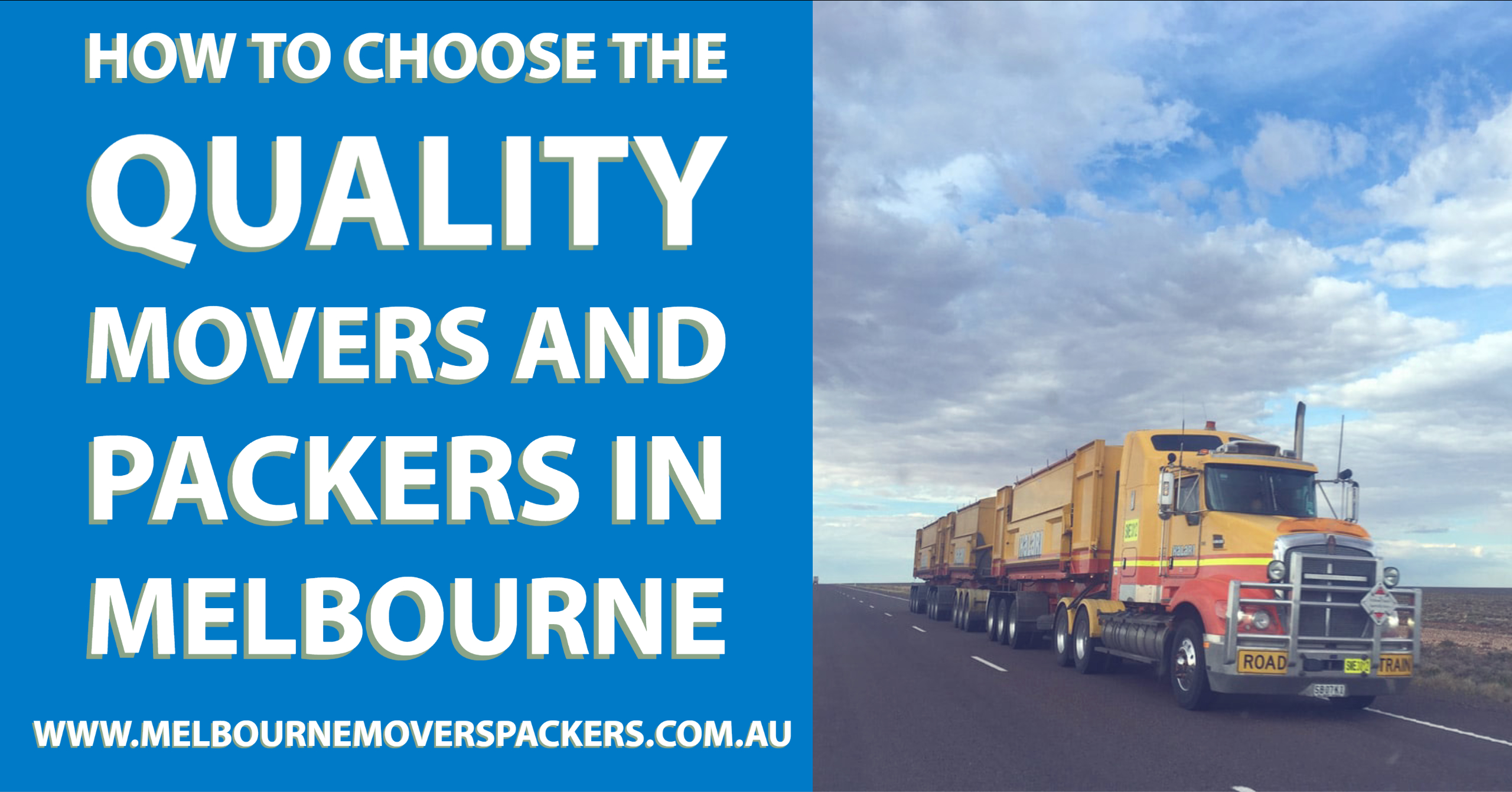 How to Choose the Quality Movers and Packers in Melbourne