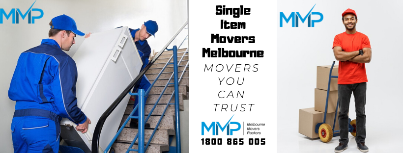 Single Item Movers Melbourne